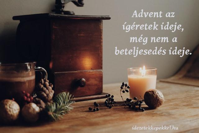 advent idézet igéret