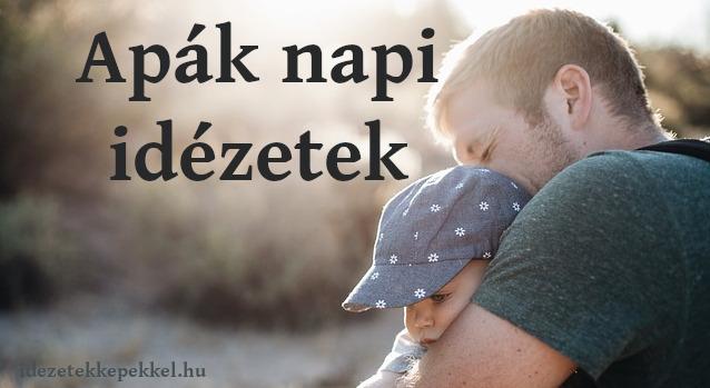 apák napi idézetek