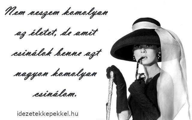 audrey hepburn idézetek magyarul Audrey Hepburn idézetek   Idézetek Képekkel