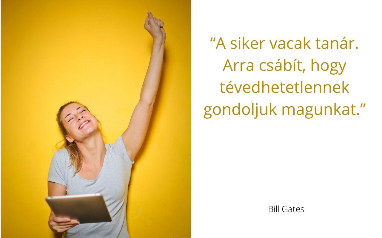 Bill Gates idézet, siker