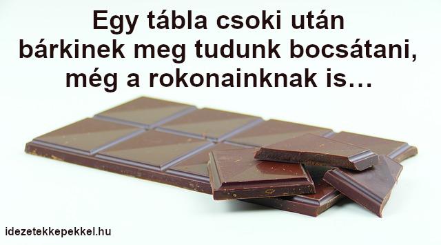 csokoládé idézet megbocsátás