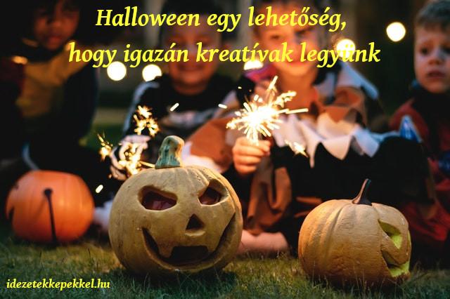 halloween idézet kreatív
