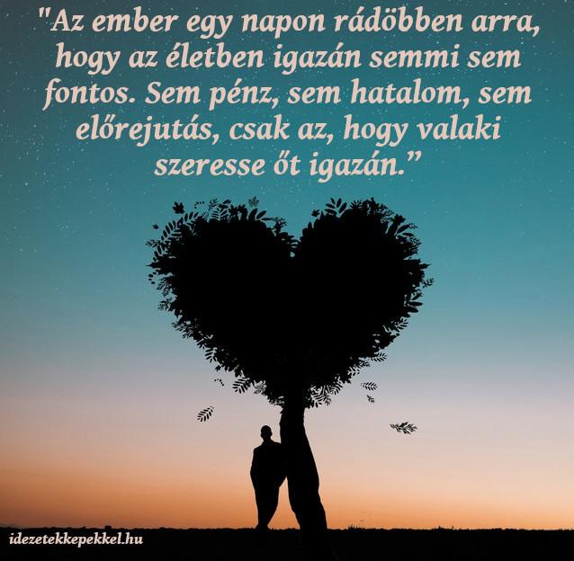 igaz szerelem fontos