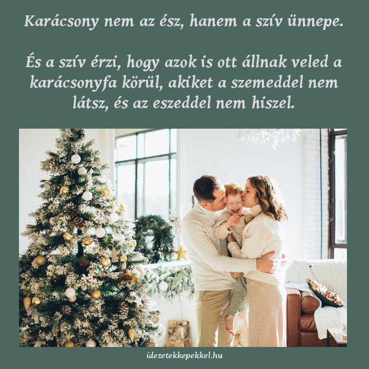 karácsony szív ünnepe