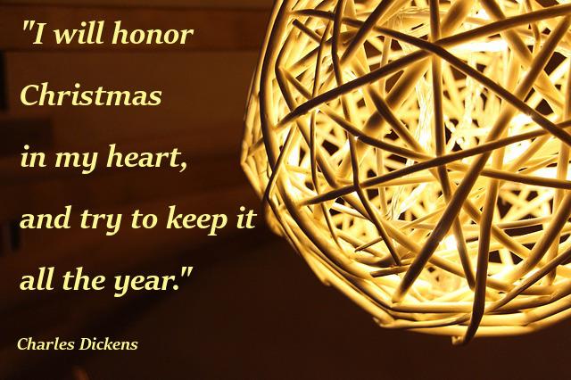 karácsonyi idézet charles dickens