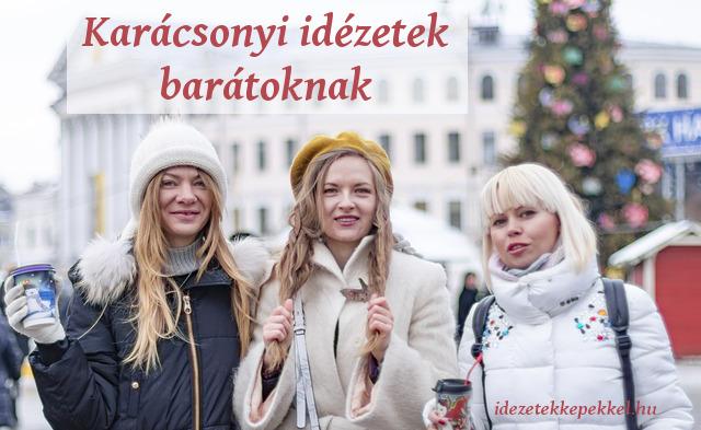 karácsonyi idézetek barátoknak
