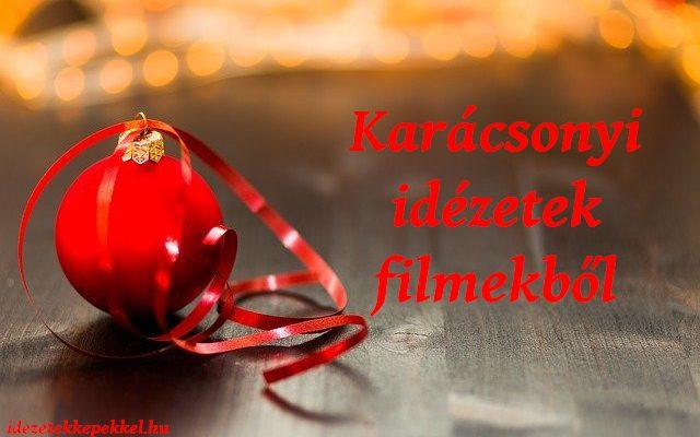 karácsonyi idézetek filmekből