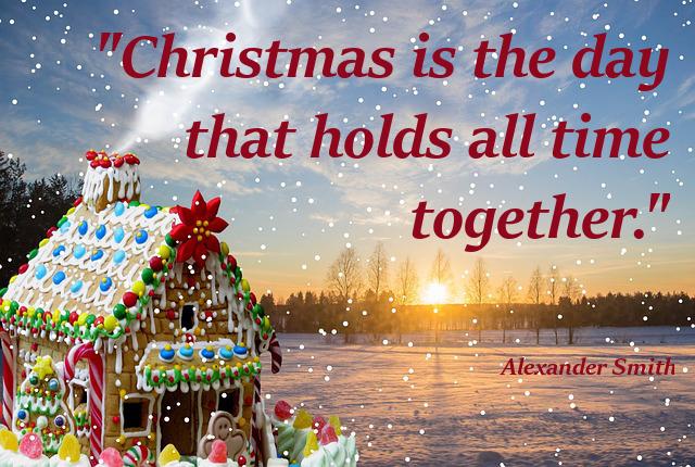 karácsonyi idézet alexander smith