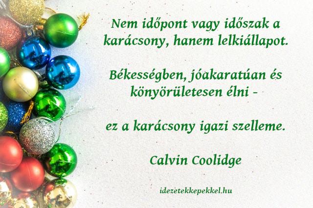 karácsonyi idézet, lelkiállapot