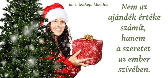 karácsonyi idézet szeretet