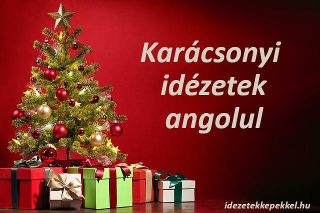 karácsonyi idézetek angolul