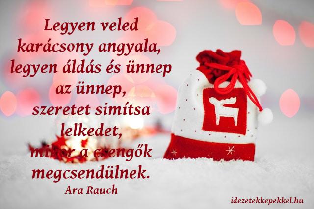 különleges karácsonyi idézet, legyen veled