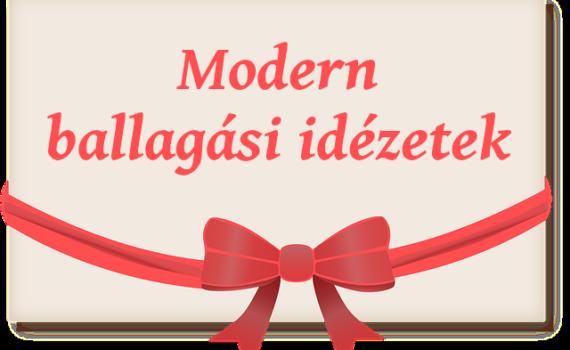modern ballagási idézetek