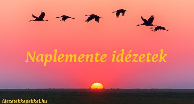 naplemente idézetek