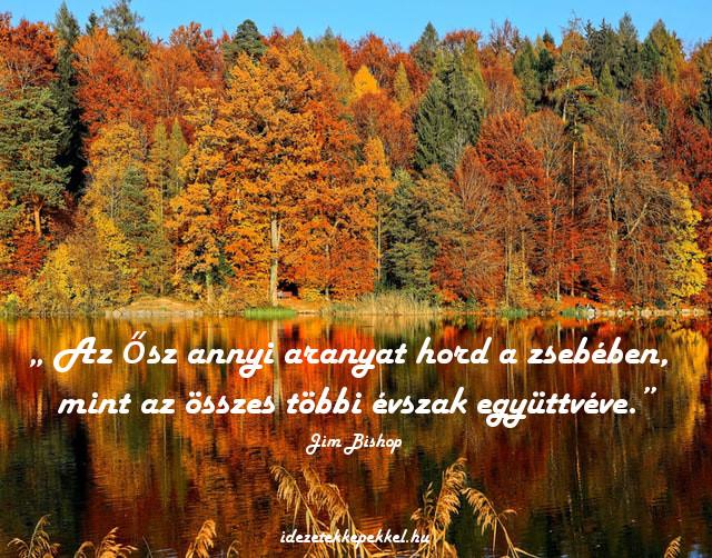 ősz idézet, arany