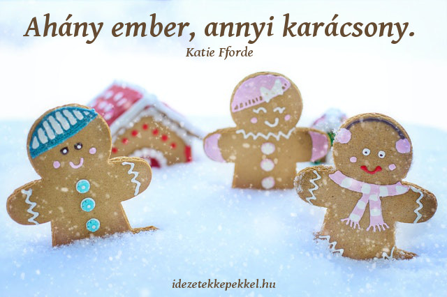 rövid karácsonyi idézet, ahány ember