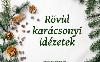 rövid karácsonyi idézetek képekkel