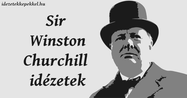sir winston churchill idézetek