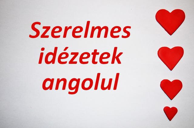 szerelmes idézetek angolul