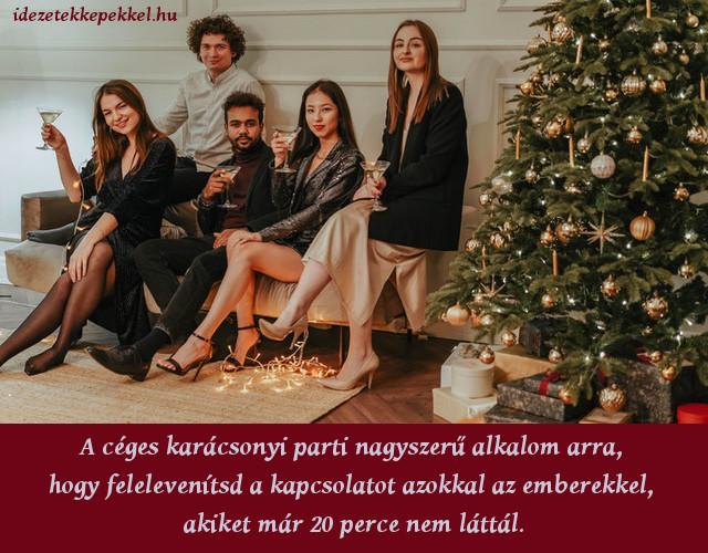 vicces karácsonyi idézet, céges karácsonyi parti