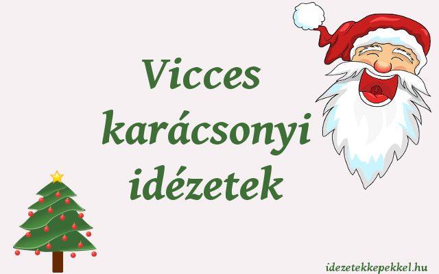 vicces karácsonyi idézetek