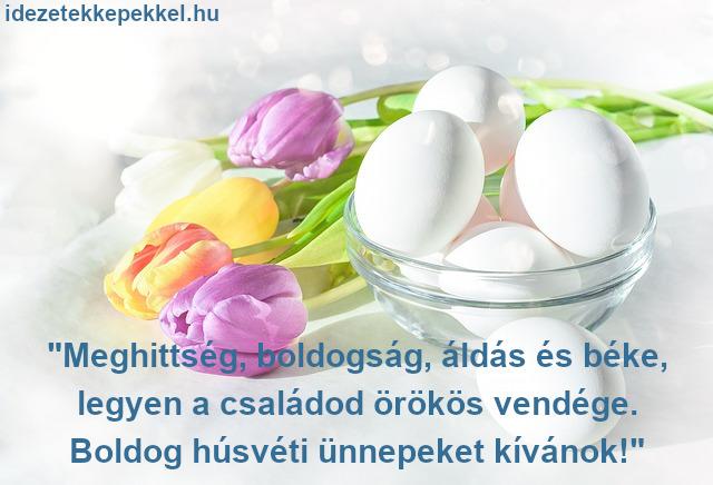 virágos húsvéti idézet