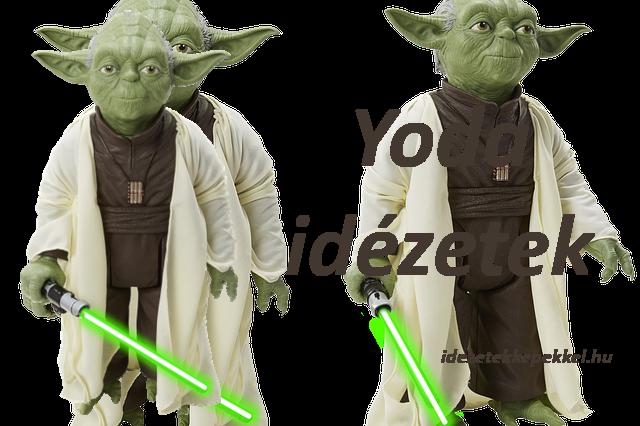 Yoda idézetek